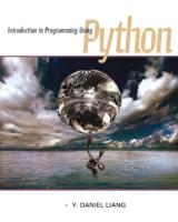 Introduction to Programming Using Python - Y. Liang - Pearson, 2013.pdf