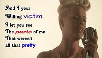 Pink feat. Nate Ruess - Just Give Me A Reason (Lyric Video).mp4