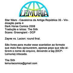 Star Wars - Cavaleiros da Antiga República - 35.cbr