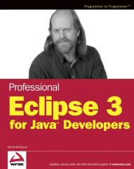 Professional Eclipse 3, For Java Developers.pdf