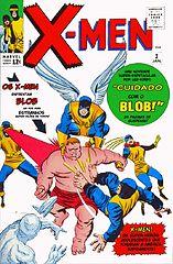 The Uncanny X-Men #003 (Jan. 1964) - Cuidado Com O Blob!.cbr