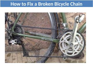 How to Fix a Broken Bicycle Chain (1).pptx