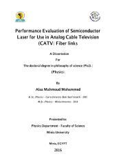 علاء محمود محمد - رسالة الدكتوراه - كلية العلوم - قسم  (pdf) الفيزياء.pdf