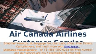 Aircanada airlines customerservice.pptx