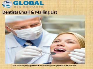Dentists Email & Mailing List.pptx