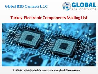 TurkeyElectronic Components Mailing List.pptx