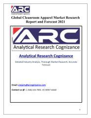 Global Cleanroom Apparel Market.pdf