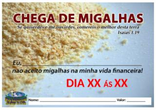 Chega de Migalhas.docx