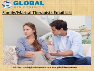 Family or Marital Therapists Email List (1).pptx